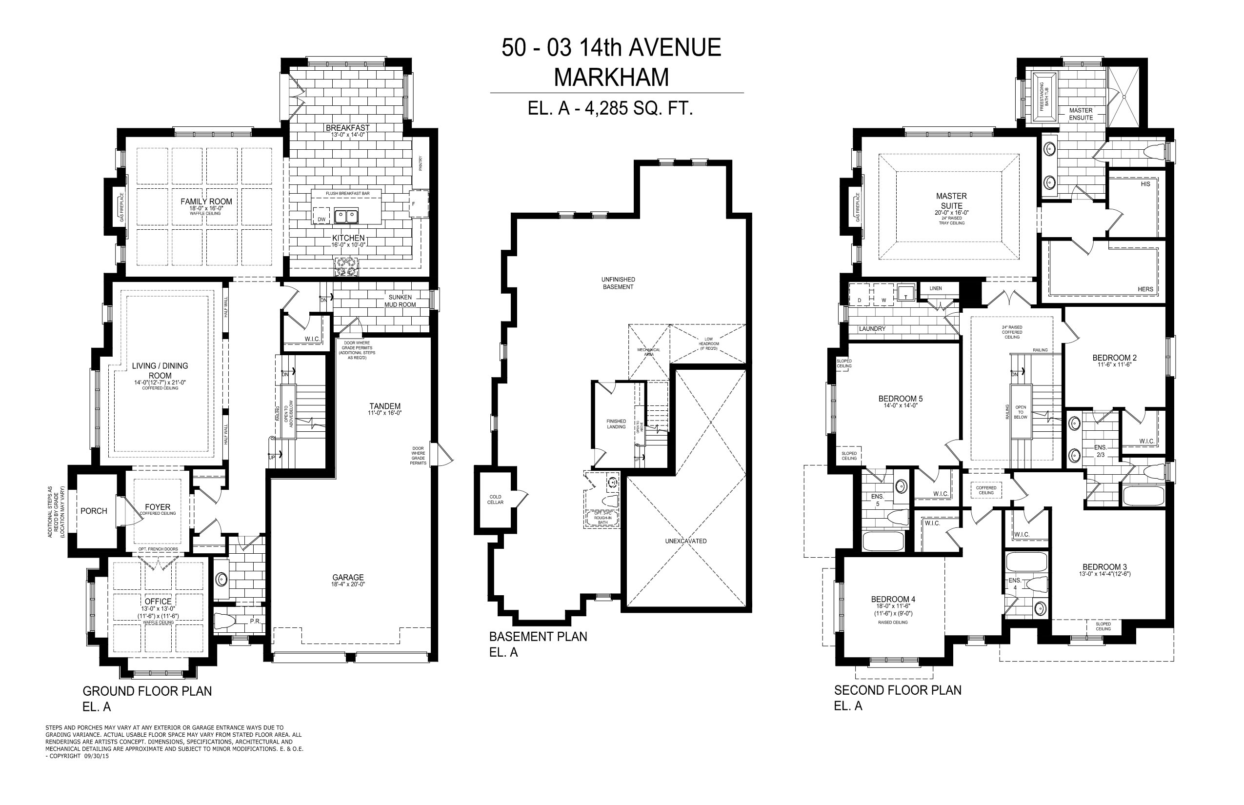 Pinnacle by ideal developments luxury estates homes in for 12 yonge floor plans