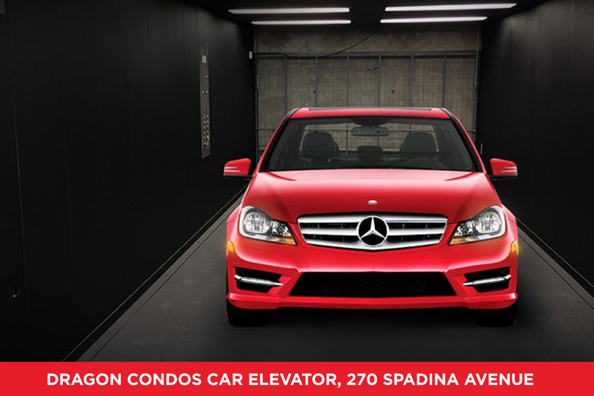 Ideal Developments gets innovative by installing a car elevator in the City of Toronto